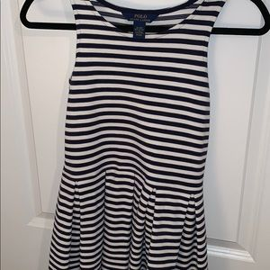 Polo by Ralph Lauren Dresses - Navy blue and white stripped dress.